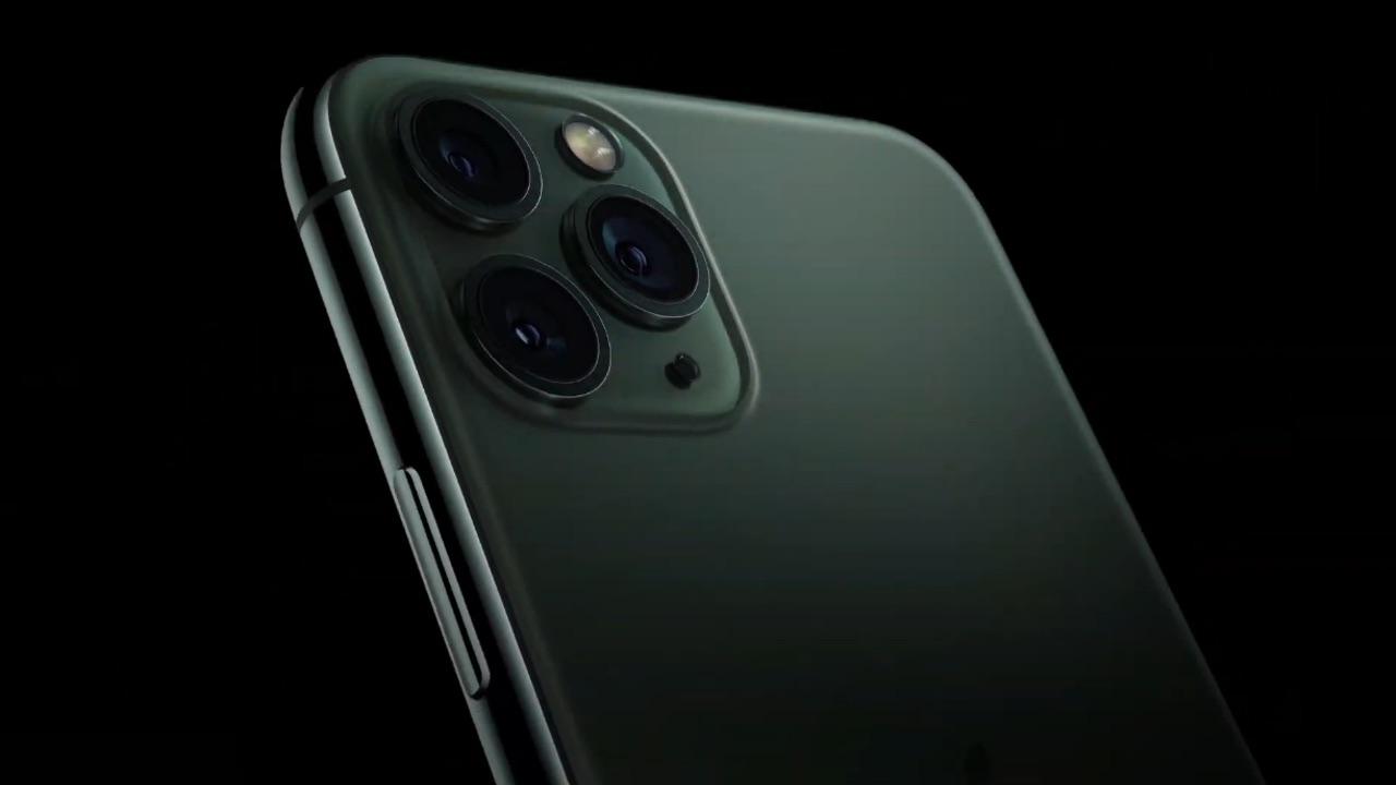 De tre bakre kamerorna på iPhone 11 Pro och 11 Pro Max